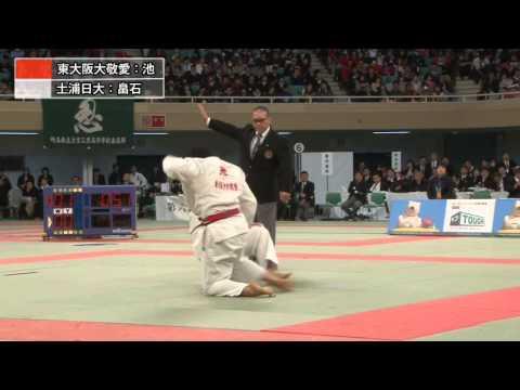 女子70kg級決勝 池絵梨菜 vs 畠石香花