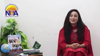 Struggle of Farah Mumtaz CSS Toper AJK | NOA's Star |  Preparation Tips for CSS Exams