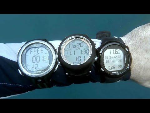 Suunto D4i vs Aeris F10 F11 | Freediving Watch Comparison