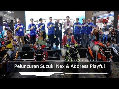Peluncuran Suzuki Nex & Address Playful, Tampil bedaI OTO.com