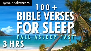 GOD'S WORD REFRESHES THE SOUL   100+ Bible Verses For Sleep or Bible Study   Soaking Worship Music