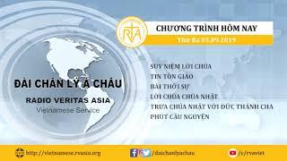 CHƯƠNG TRÌNH PHÁT THANH, THỨ BA 03092019