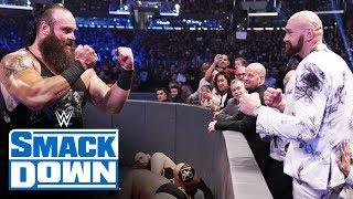 Braun Strowman stares down Tyson Fury: SmackDown, Oct. 4, 2019