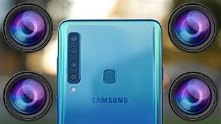 Samsung Galaxy A9 (2018) Review - A QUAD Camera Monster!