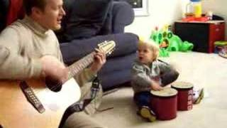 hang on sloopy - dad and chase