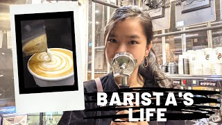 Barista Vlog Australia (Working in One of The Busiest Cafes in Sydney CBD)