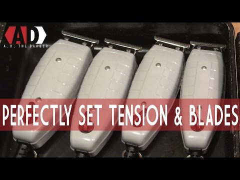 Perfectly Adjust Your Andis T-Outliner Tension and Blades | How to: AD the Barber