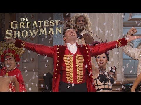 The Greatest Showman Live Performance 'Come Alive'