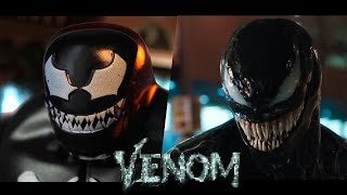 VENOM - Official trailer in LEGO - side by side version