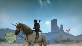 Red Dead Redemption: Undead Nightmare - The Unicorn (Location And Closer Look)