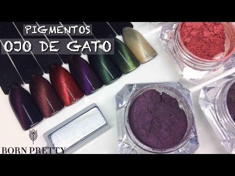 Pigmentos Efecto Ojo de Gato | BornPretty Review + Tutorial