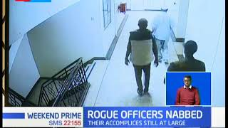 Rogue Officers Nabbed: kayole based police officer accused of robbery with violence