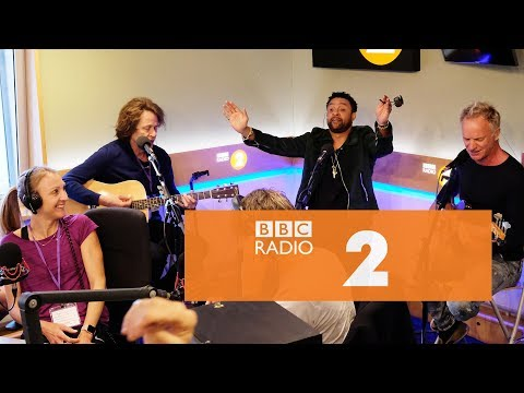 Sting and Shaggy – Lovely Day (Bill Withers cover, Radio 2 Breakfast Show)