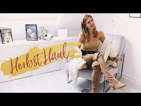 Herbst Fashion Haul 🍂 Overknees, Boots, Jacken | MRS. BELLA