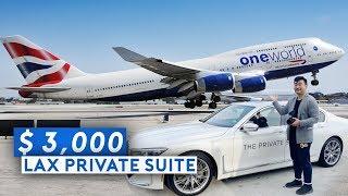 LAX Private Suite + BA Super B747 Business Class