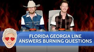 Florida Georgia Line Answers 'Ellen's Musical Burning Questions'