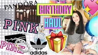 14TH BIRTHDAY HAUL | What I Got For My 14th Birthday !!!