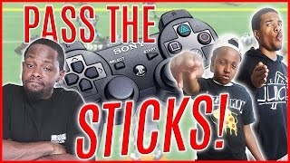 PASS THE STICKS YOUNG FELLA! - Madden 05 Gameplay