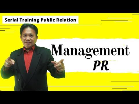 Training Public Relation - Management PR - YouTube