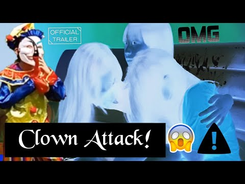 Girls Attacked By Clown | Scary Movie | Horror Movie