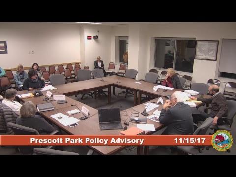 Prescott Park Policy Advisory Committee 11.15.17