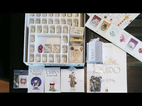 How to Store Tokaido with All Content but without the Deluxe box and board.