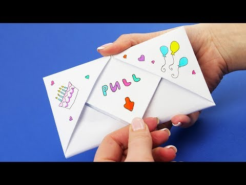 DIY Pull Tab Origami With Pinkie Pie From My Little Pony | Letter Folding Origami Mp3