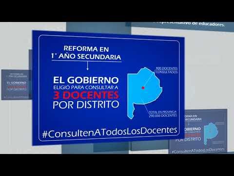 REFORMAS EDUCATIVAS SIN CONSULTA A TODOS LOS DOCENTES
