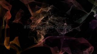 geometric motion background video | abstract moving background loop | Royalty Free Footages