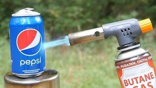 GAS TORCH VS PEPSI
