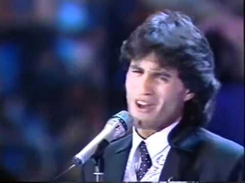 España Eurovisión 1991 Sergio Dalma - Bailar pegados (4º Puesto - 119 puntos)