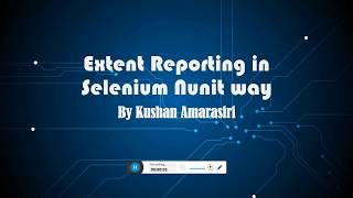 Extent Report with NUnit