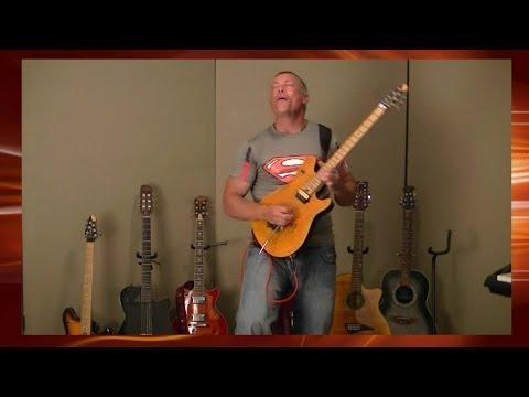 Samsara - Guitar Solo ( Recording Studio )