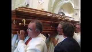 preview picture of video '26 luglio 2010 - Cattedrale di Ascoli Satriano Funerale di Mons.Leonardo Cautillo'