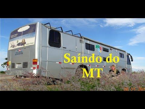 De motorhome saíndo do Mato Grosso | Jucimeira | Rondonopolis | Alto Garcas | Alto Araguaia