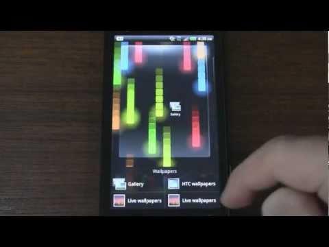 Video of Pixel Rain Live Wallpaper