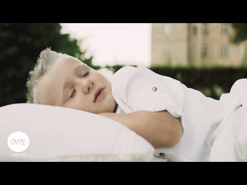 OM Comfort KINDERBETTDECKE | Ganzjahres-Kinderbettdecke für alle vier Jahreszeiten