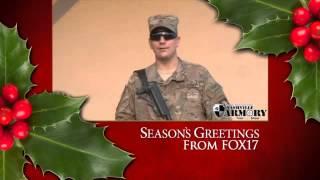 SOLDIER GREETINGS: Sgt. Joshua Reynolds