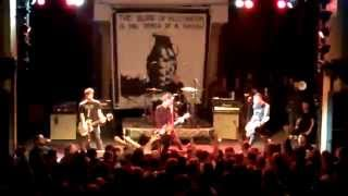Anti-Flag - break up fight & Power To The Peaceful (Live at Mr. Smalls)