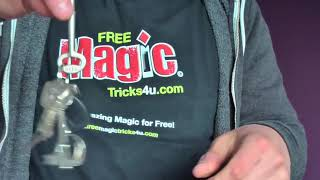 MAGIC TRICK: Ring To Key Ring REVEALED!