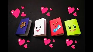Easy Attractive Mini Booklet For Kids|How To Make Mini Booklet|Easy Mini Booklet|A4 Sheet Crafts