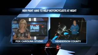 Light Up Motorcycle Paint to Increase Visibility on Roads