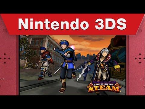 Видео № 1 из игры Code Name: S.T.E.A.M. (Б/У) [3DS]