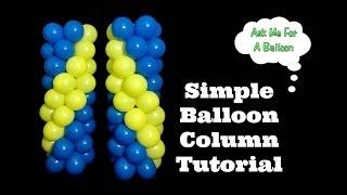 Simple Balloon Column Tutorial