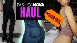 Fashion Nova HAUL & TRY ON   Jeans, Bodysuits, Tops