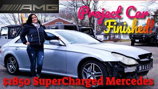 The $1850 Supercharged AMG Project Car is Finished! - Flying Wheels