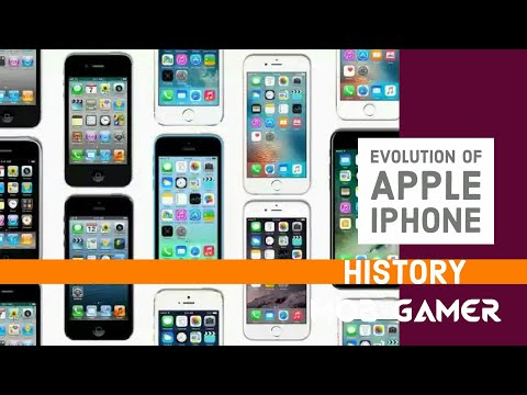 iPhone History : 2007 - 2017