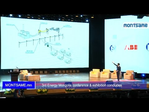3rd Energy Mongolia conference & exhibition concludes