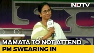 """Please Excuse Me"": Mamata Banerjee's Sharp RSVP To PM Modi's Oath Invite"