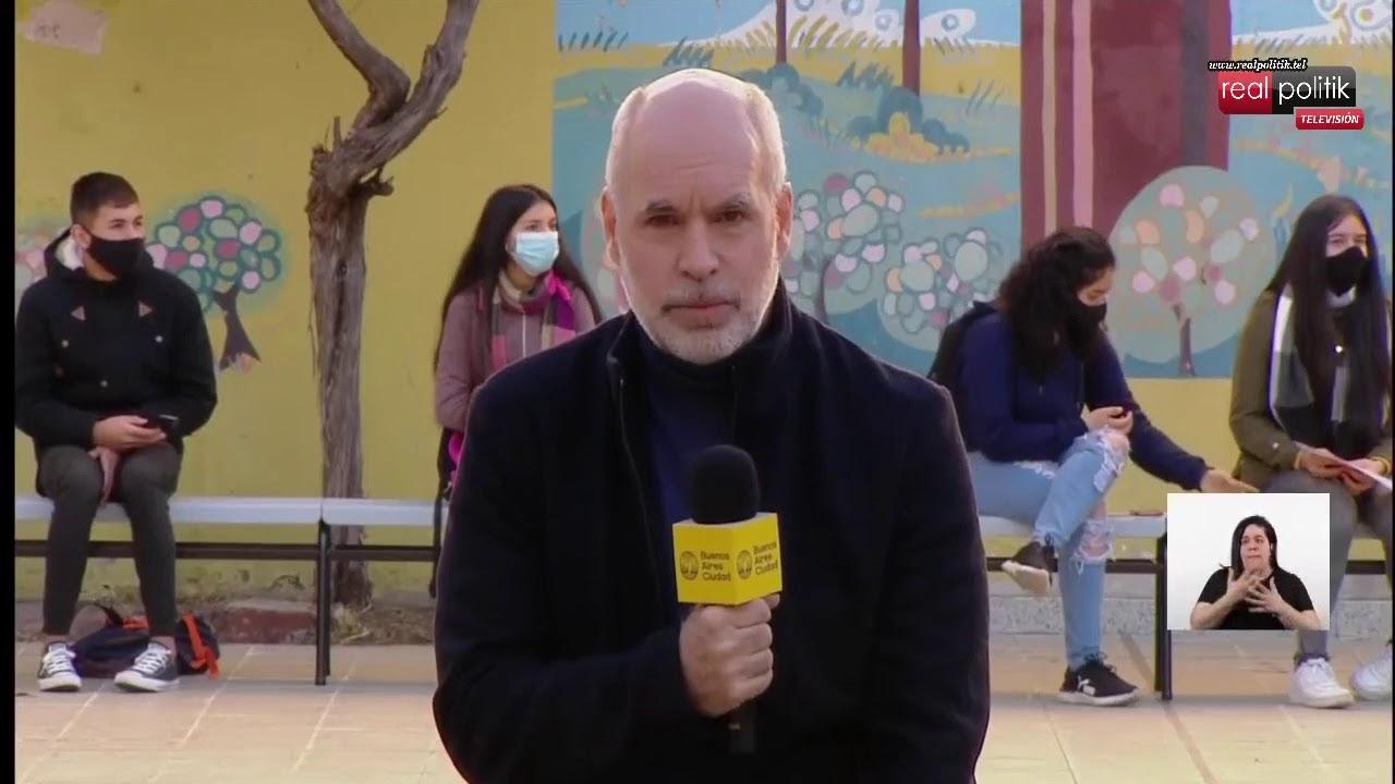 Rodríguez Larreta presentó el programa de apoyo económico a la primera infancia
